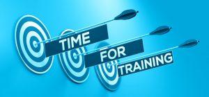 time for training SR blue