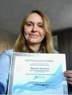 CIPS Level 4 Apprentice of The Month Katerina Aliri Gent
